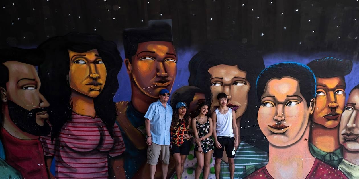 Street art dans les rues de Lima - Pérou
