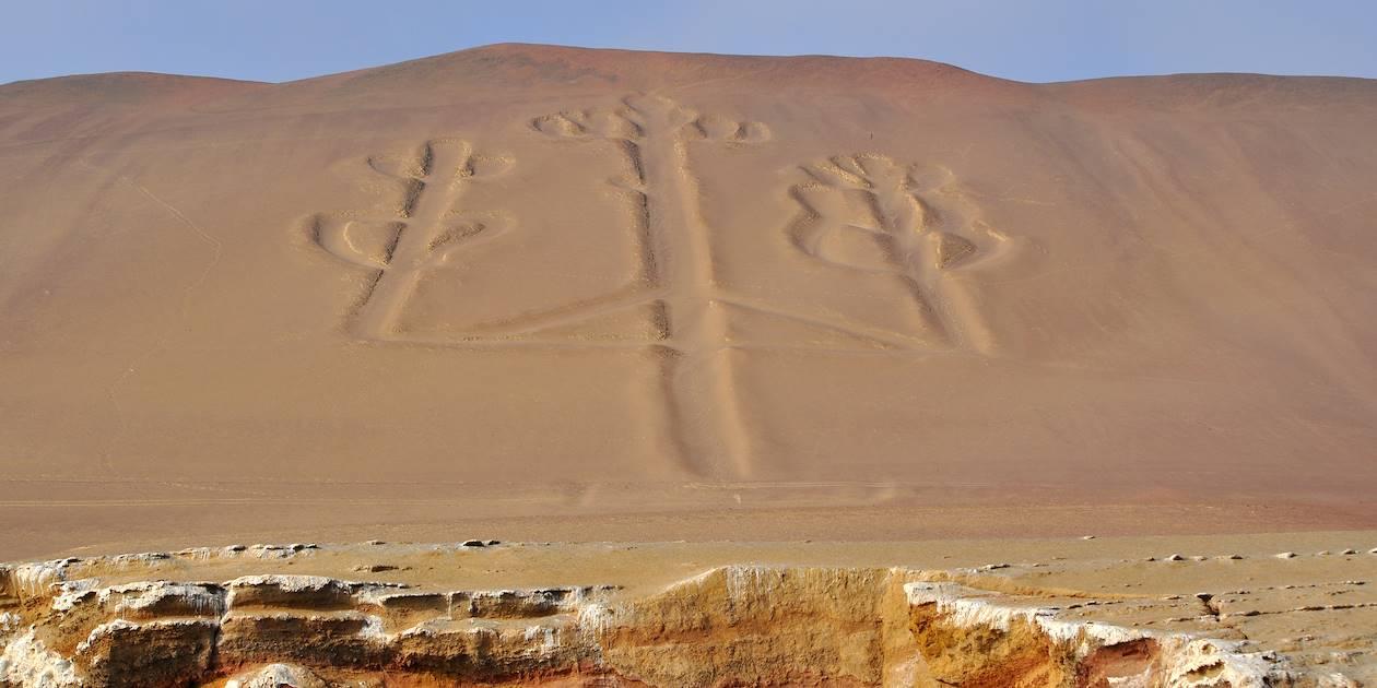 Chandelier de Paracas - Réserve nationale de Paracas - Pérou