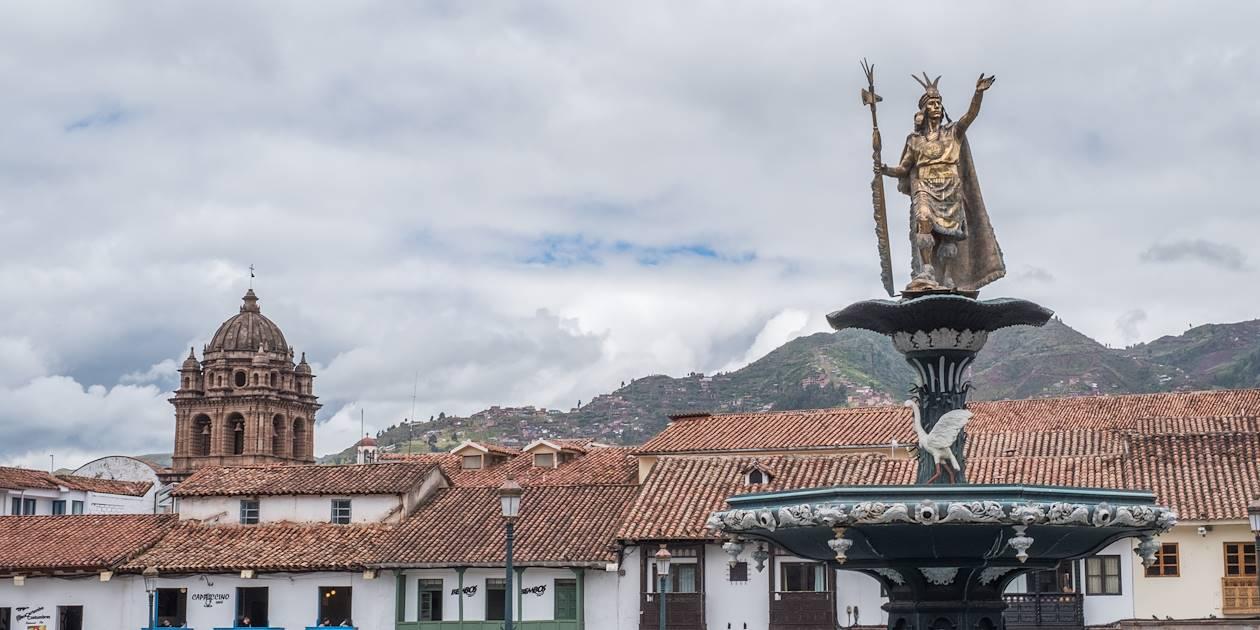 Statue de Pachacutec - Cuzco - Pérou