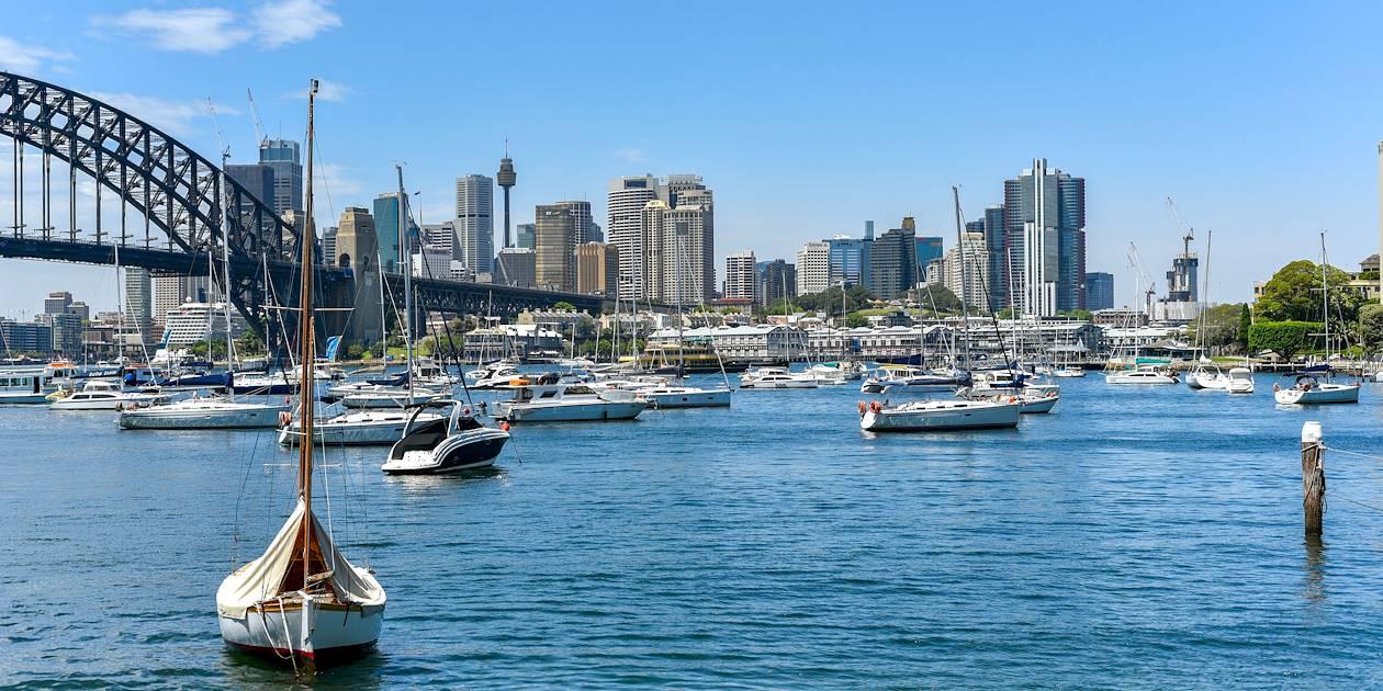 Port Jackson et Harbour Bridge - Sydney - Australie