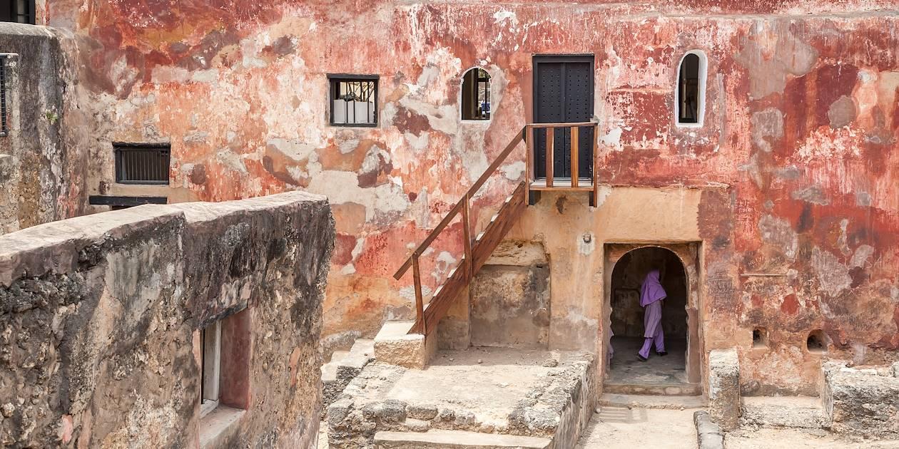 Fort Jésus, édifié par les portugais au 16e siècle - Mombasa - Kenya