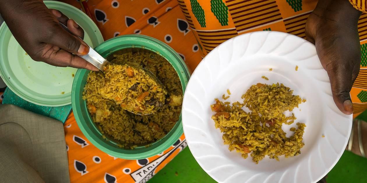 Riz Pilau Kénian au curry - Kenya