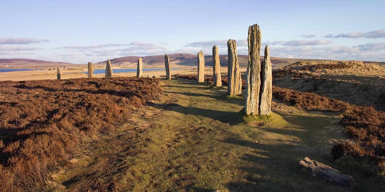 Cercle de Brodgar - Mainland - Îles Orcades - Écosse