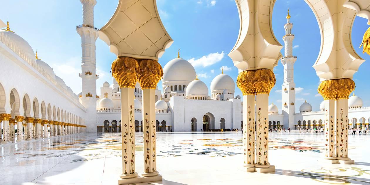 Grande Mosquée Sheikh Zayed - Abou Dhabi - Emirats Arabes Unis