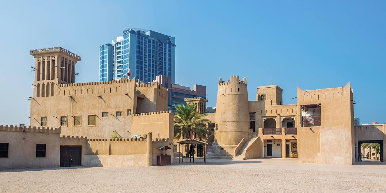 Fort historique au musée d'Ajman - Emirats Arabes Unis