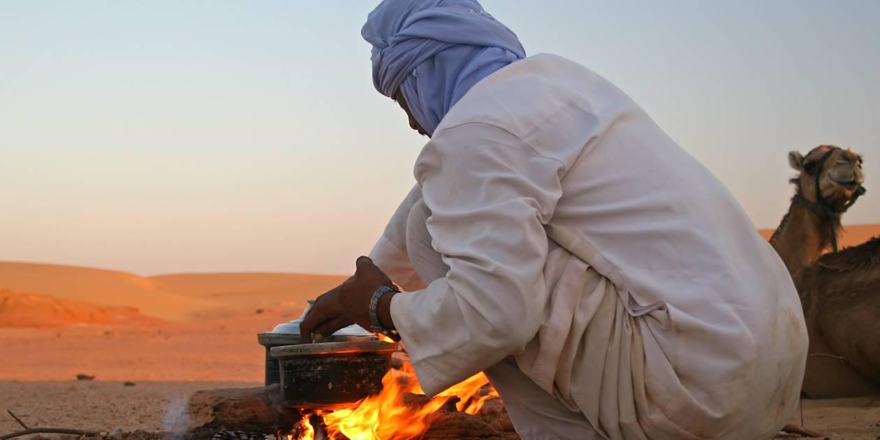 Rencontre avec les bédouins - Dubai Désert - Emirats Arabes Unis