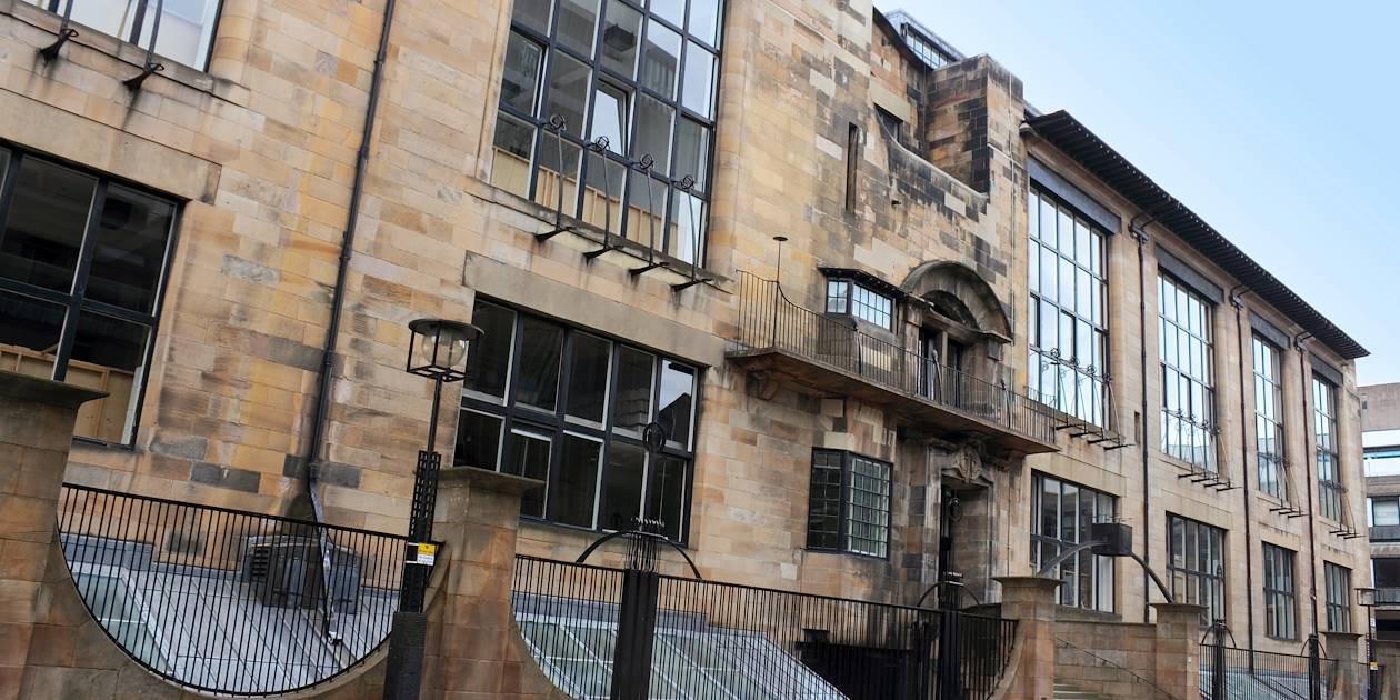 École d'art à Glasgow - Ecosse - Royaume-Uni