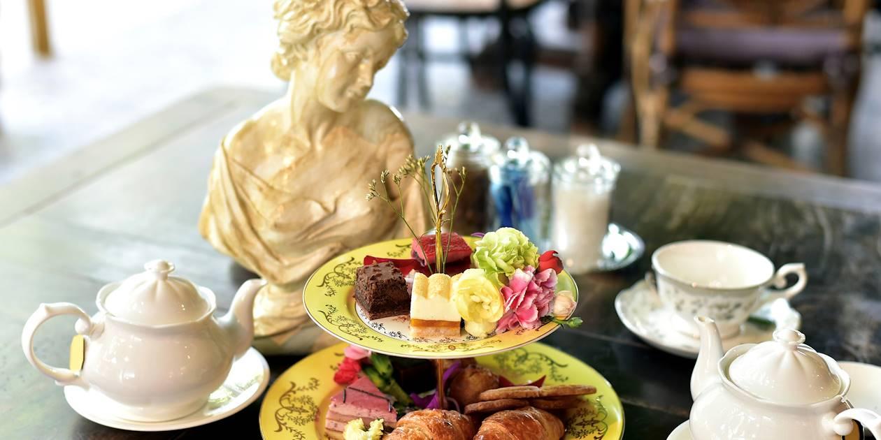 Traditionnel Afternoon Tea britannique - Écosse - Royaume-Uni