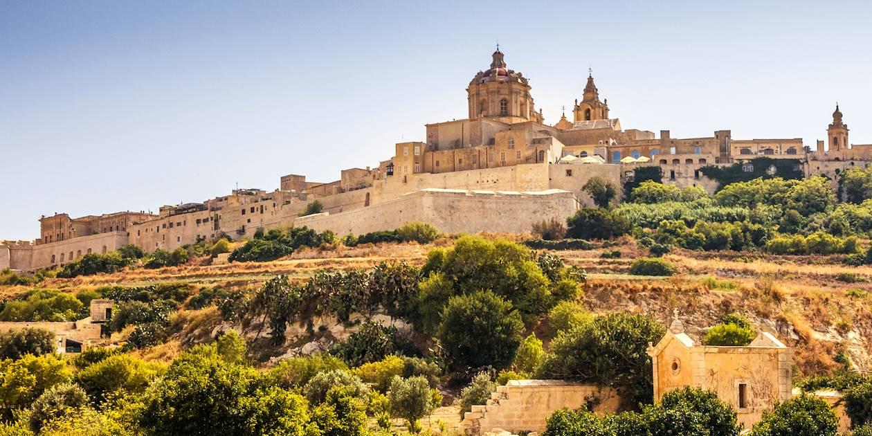 Mdina, ville fortifiée - Malte