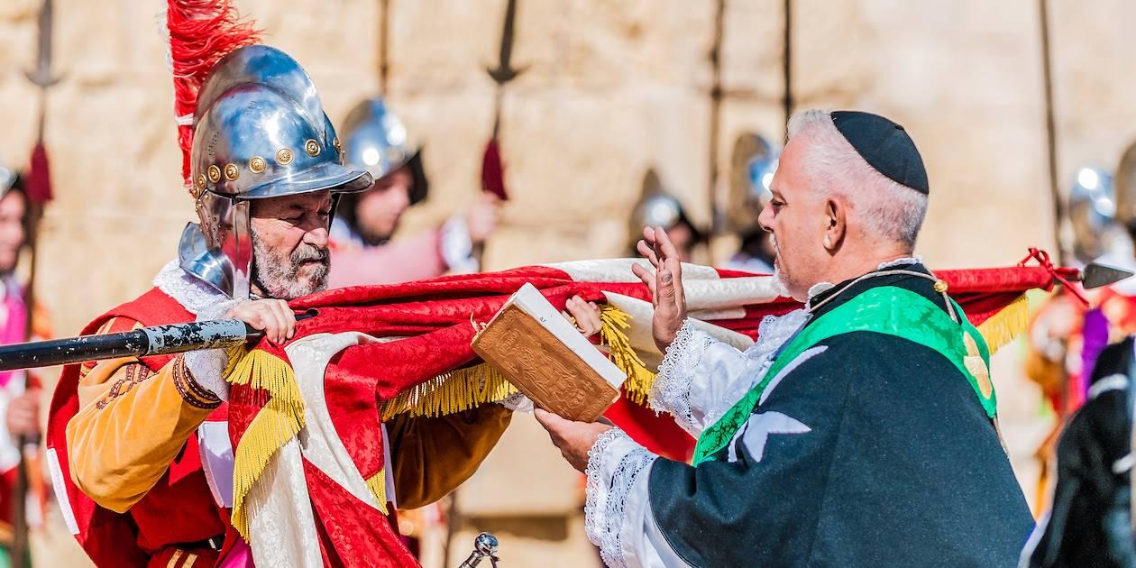 """Parade """"In Guardia"""" à Birgu - Malte"""