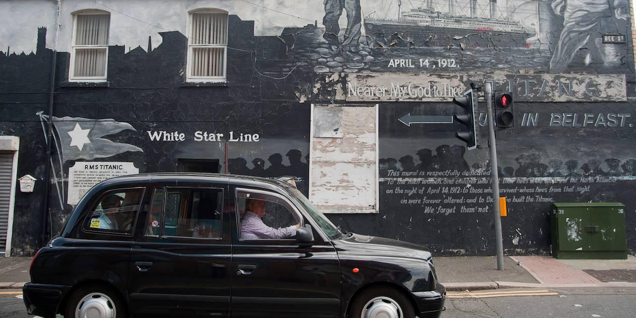 Belfast, en black cab - Belfast - Irlande du Nord - Royaume Uni