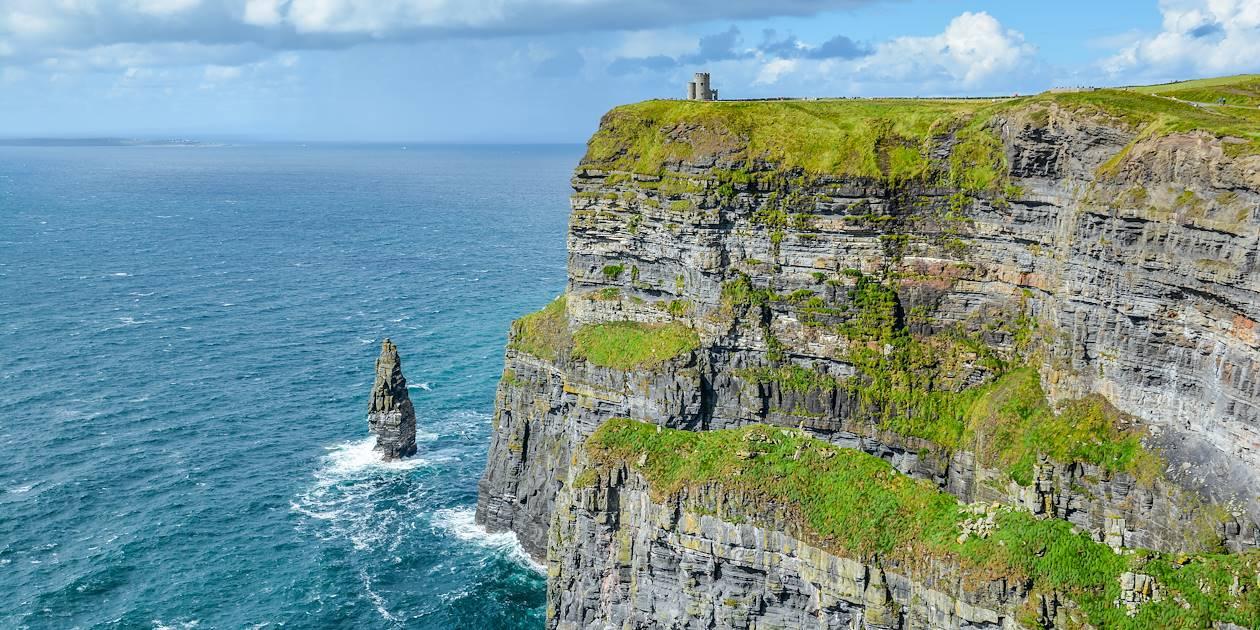 Falaises de Moher - Région de Burren - Comté de Clare - Irlande