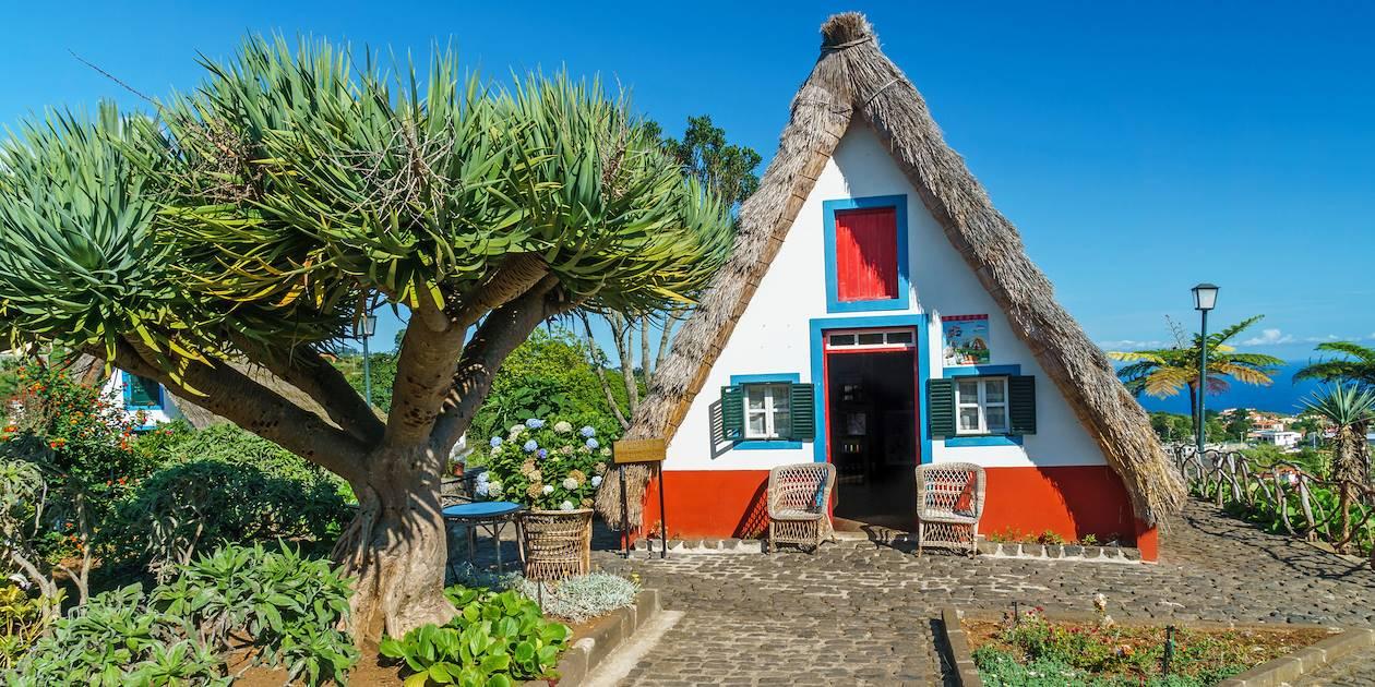 Maison traditionnelle à Santana - Madère