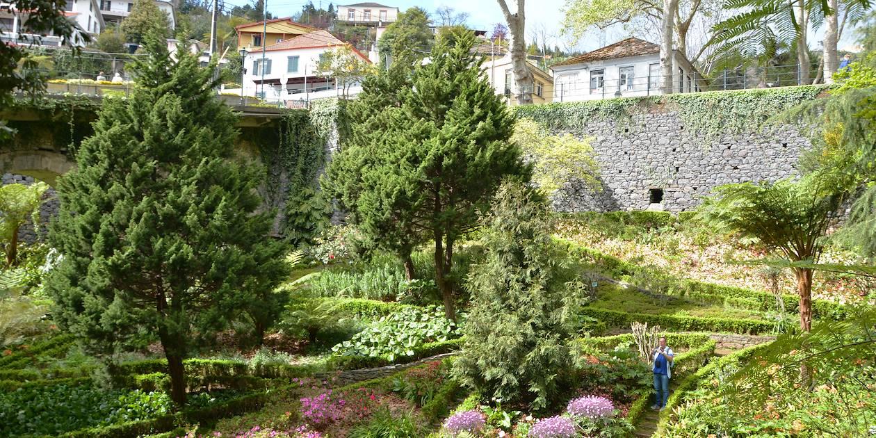 Jardin tropical de Monte à Funchal - Madère - Portugal