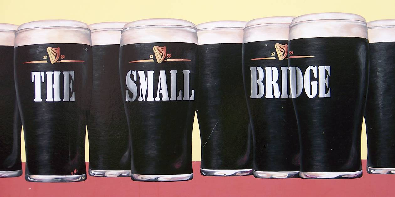 Publicité Guinness - Dingle Town - Irlande