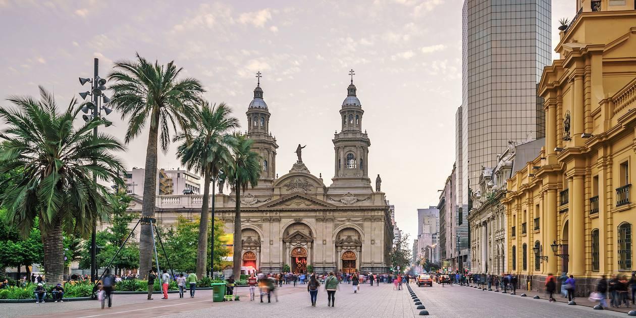 Plaza de Armas - Santiago - Chili