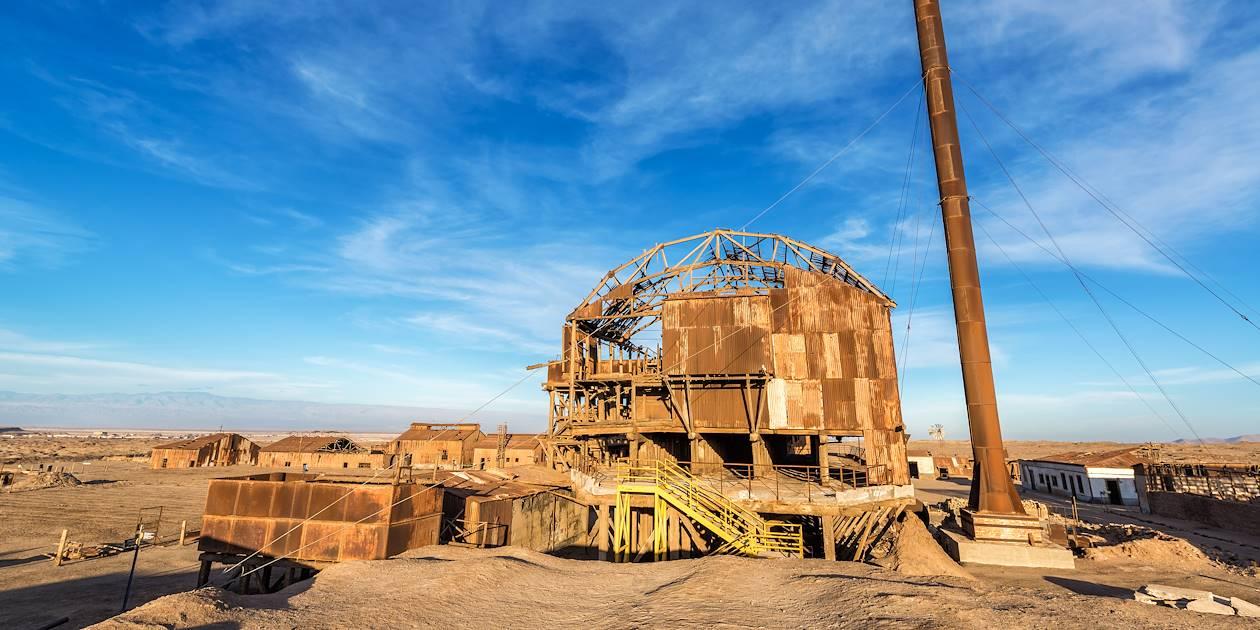Humberstone, ville fantôme minière - région de l'Atacama - Chili