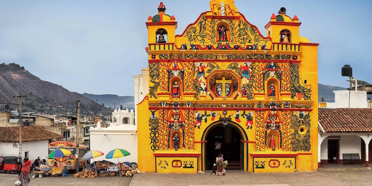 Église de San Andrés Xecul, près de Quetzaltenango  - Guatemala