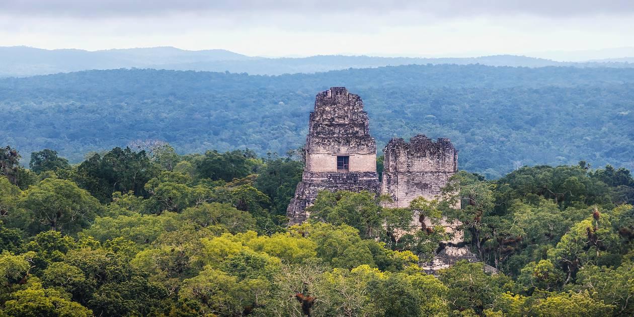 Temples du site archéologique Tikal - Guatemala