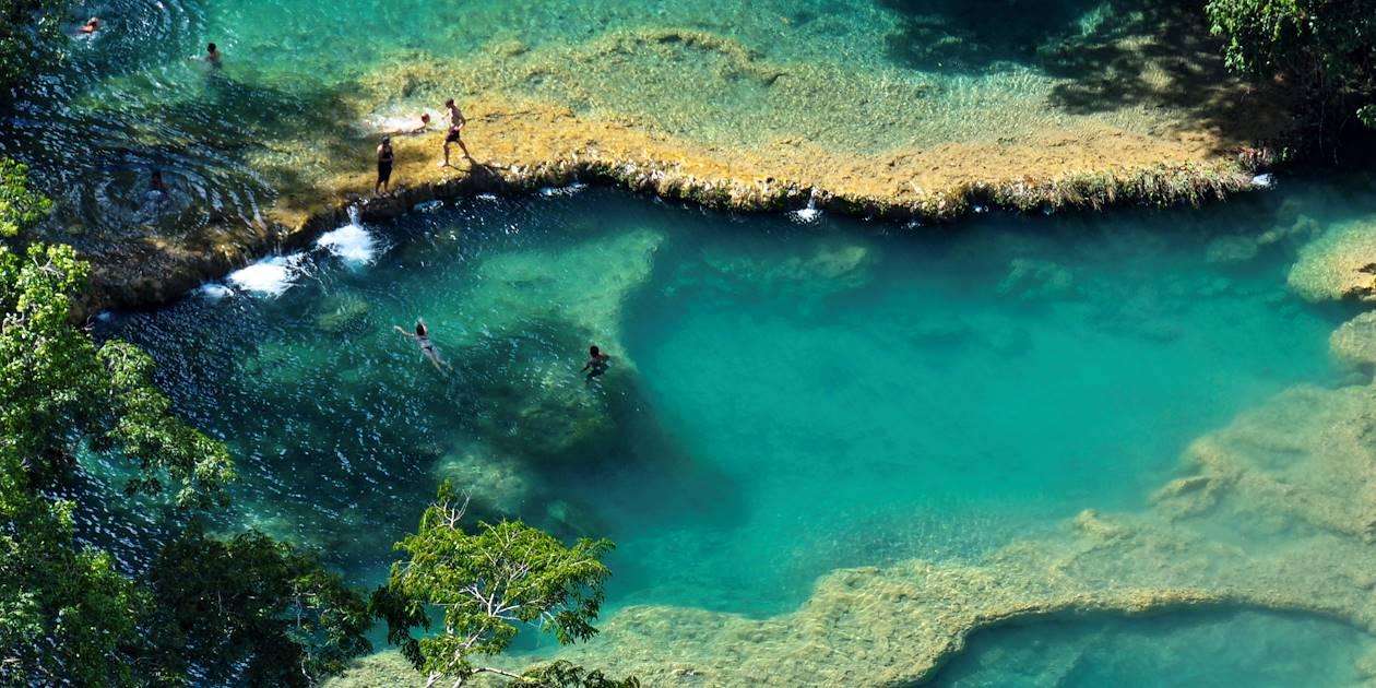 Les piscines naturelles de Semuc Champey - Guatemala