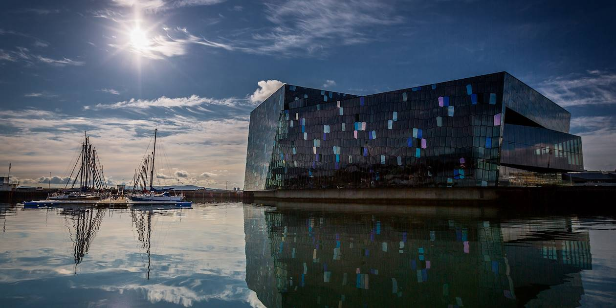 Harpa, salle de concert et palais des congrès - Reykjavik - Islande