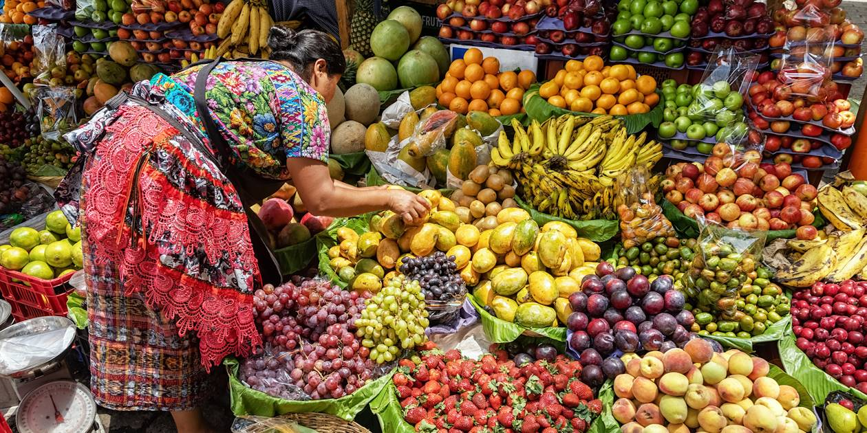 Marché à Antigua - Guatemala