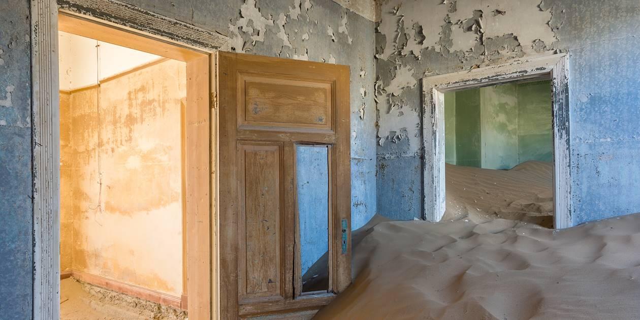 Ville fantôme de Kolmanskop - Luderitz - Namibie