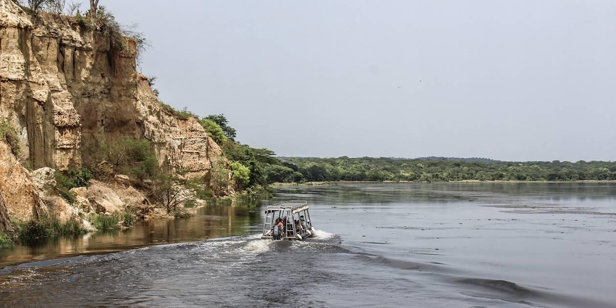 Croisière en bateau sur le Nil et randonnée jusqu'aux chutes - Murchison Falls - Ouganda