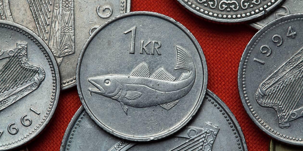 """Couronne islandaise, ou la """"krona"""""""