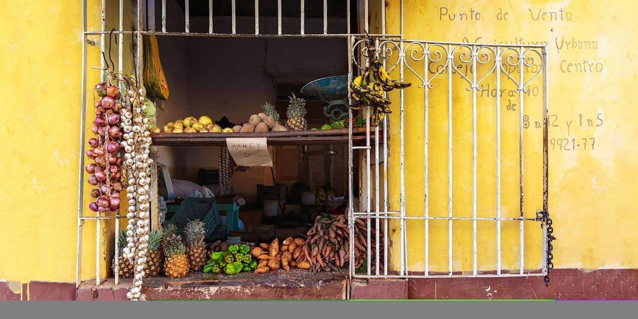 Epicerie à Trinidad - Cuba