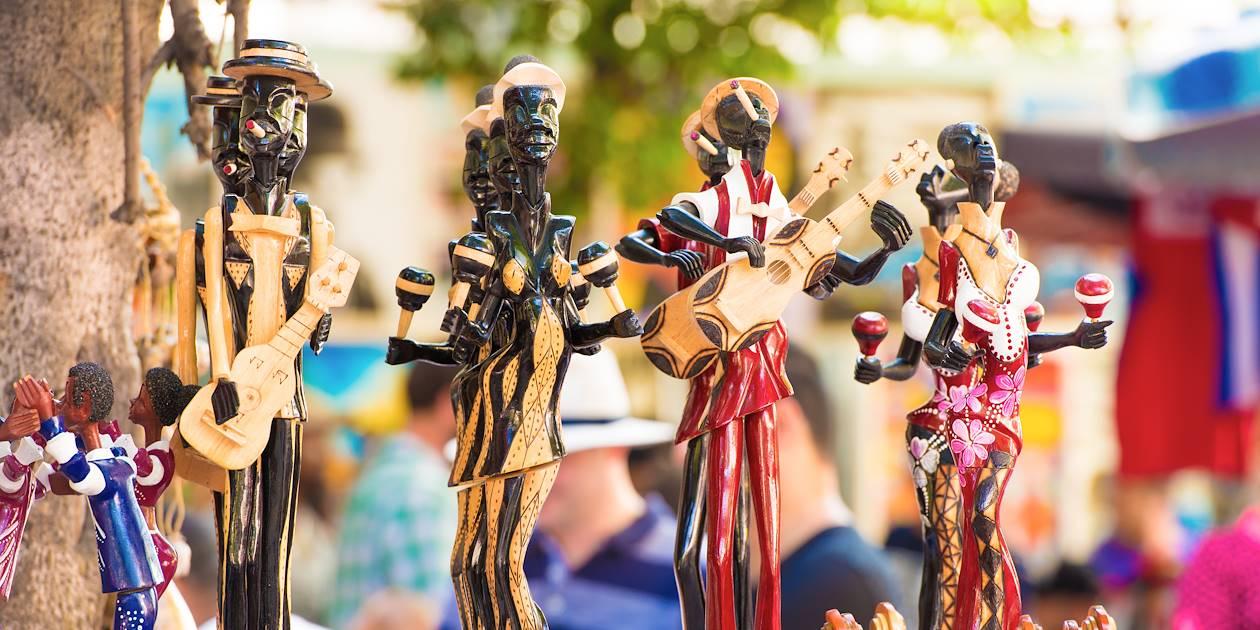 Statuettes de musiciens cubains - Cuba
