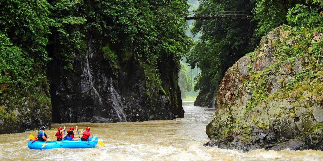Rafting sur le Rio Pacuare - Costa Rica