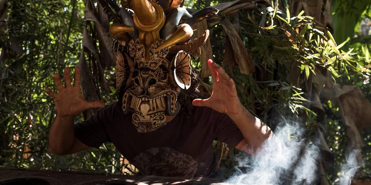 Masque traditionnel de la communauté Boruca - Boruca - Vallée Centrale - Costa Rica