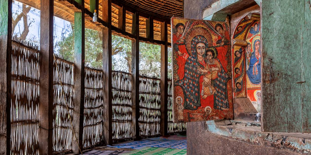 Monastère orthodoxe Ura Kidane Mehret - Région de Amhara - Éthiopie