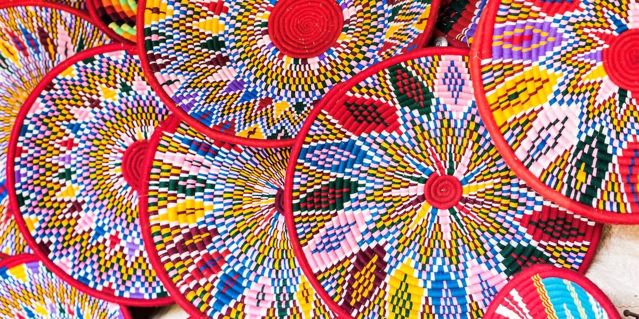 Vannerie artisanale traditionnelle - Éthiopie