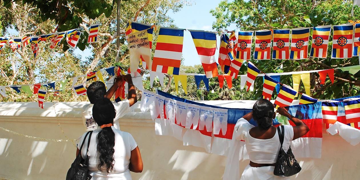 Anuradhapura - Province du Centre-Nord - Sri Lanka