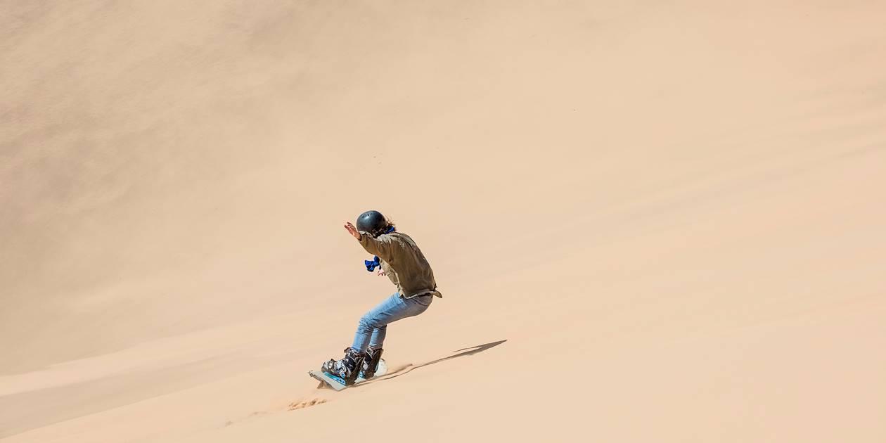 Surf de sable sur les dunes - Swakopmund - La Cote - Namibie