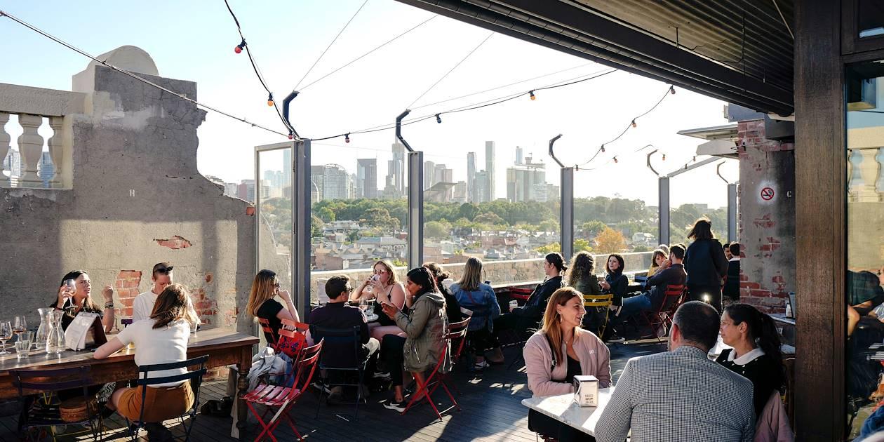 Bar dans le quartier underground Fitzroy - Melbourne - Australie