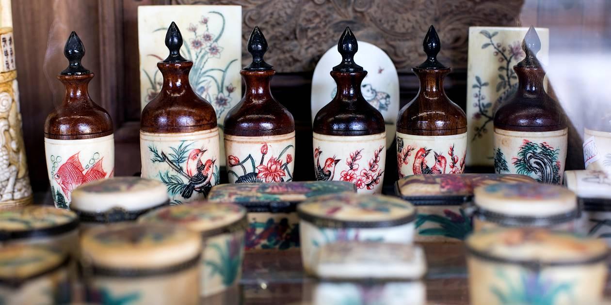 Boutique de souvenirs dans la Citadelle - Hué - Vietnam