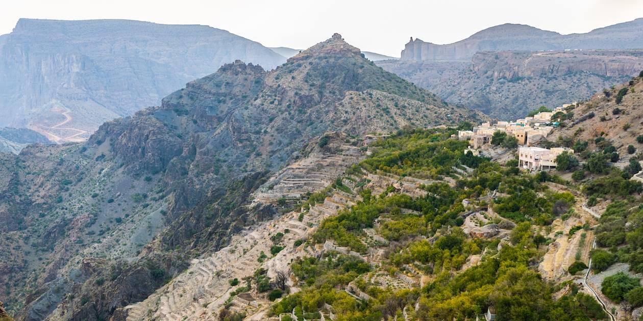 Plateau de Sayq - Jabal al Akhdar - Oman