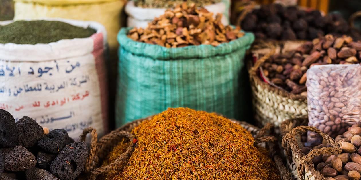 Épices au souk de Louxor - Louxor - Égypte