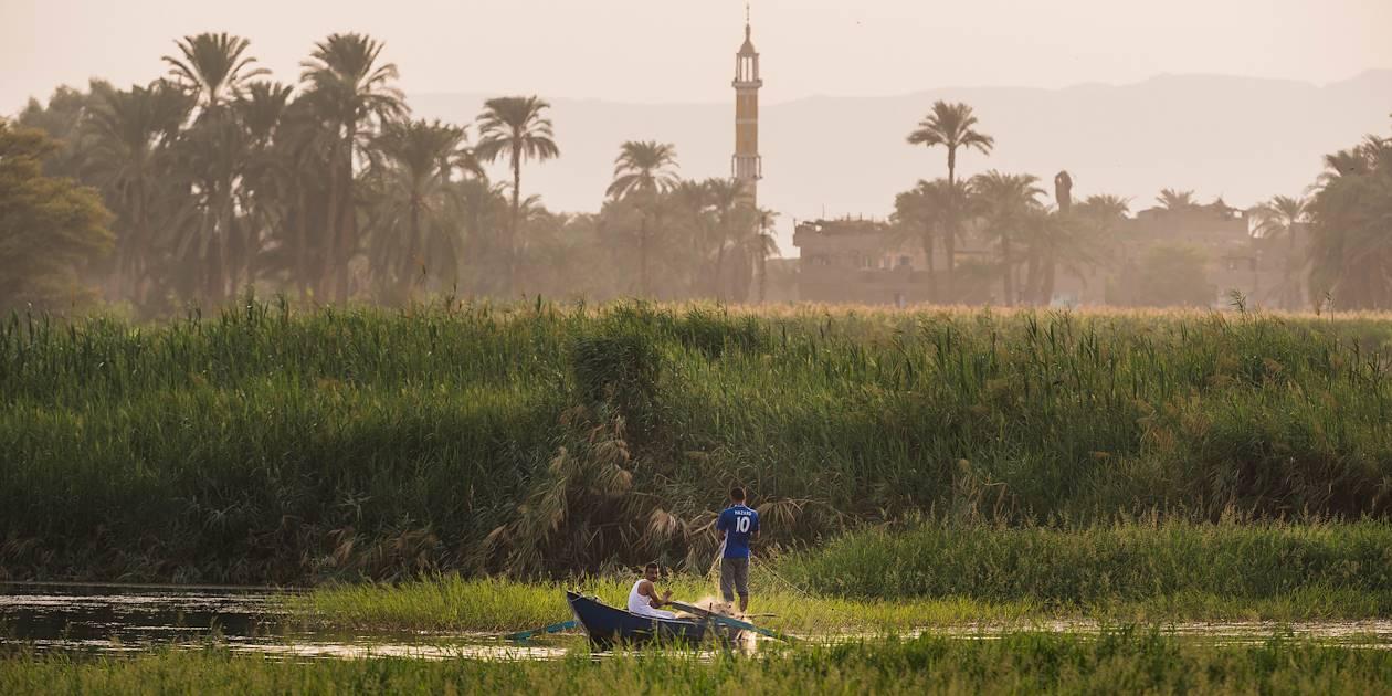 Pêcheurs sur le Nil - Égypte