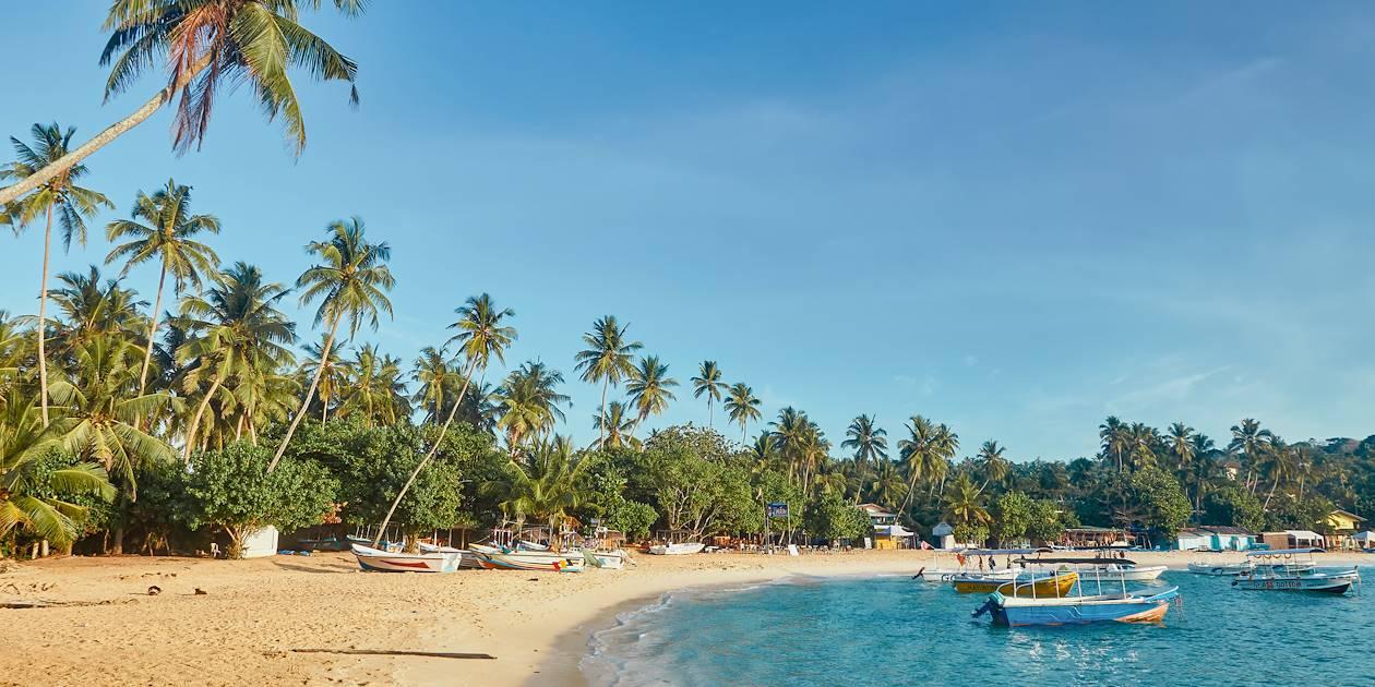 Plage d'Unawatuna - Sri Lanka