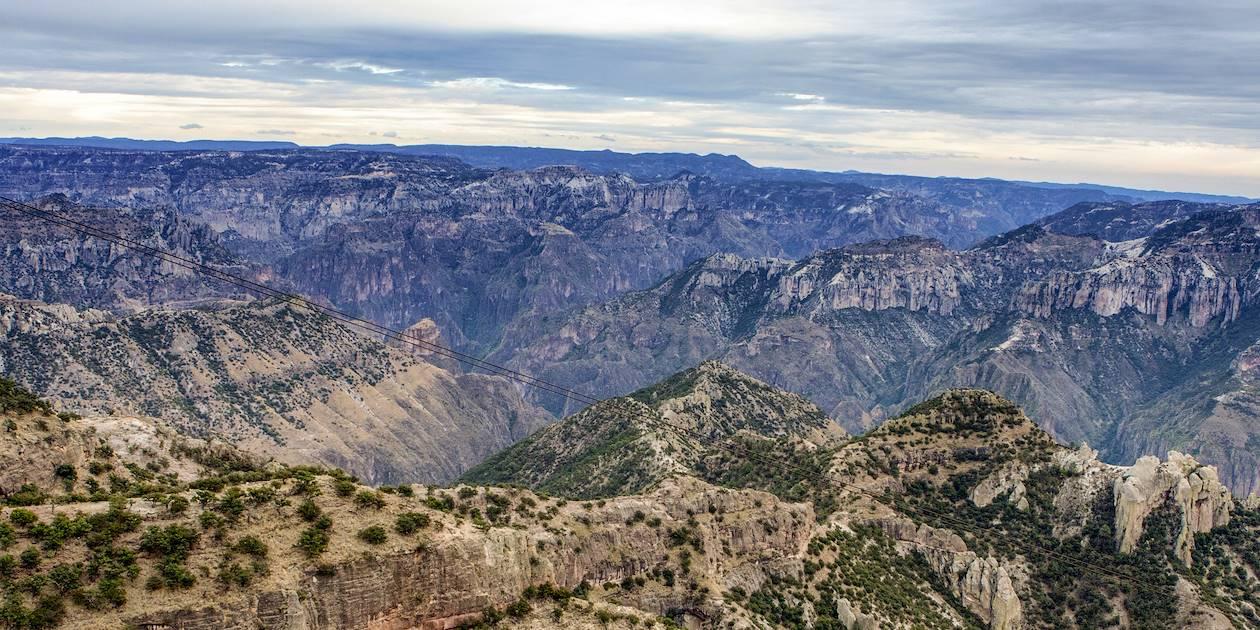 Barranca del Cobre - État de Chihuahua - Mexique