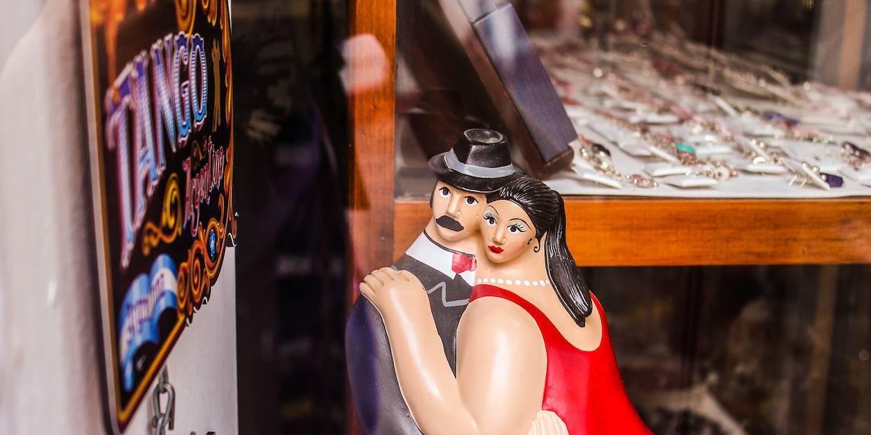 Tango souvenirs dans le quartier de San Telmo - Buenos - Argentine