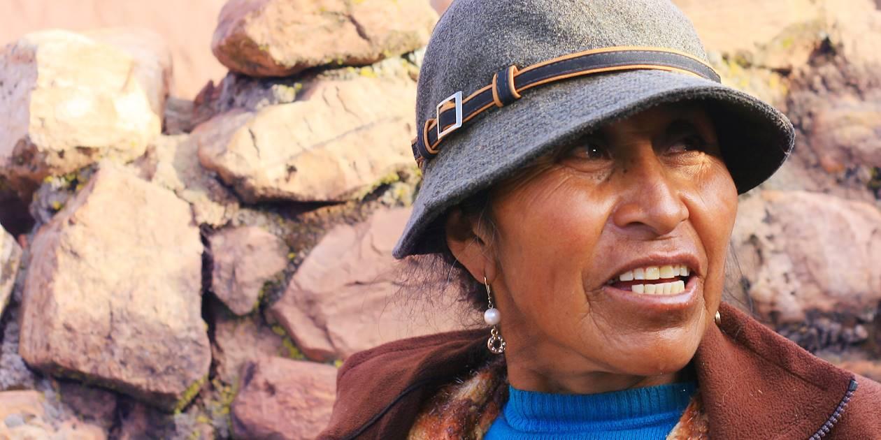 Femme Aymara - Argentine