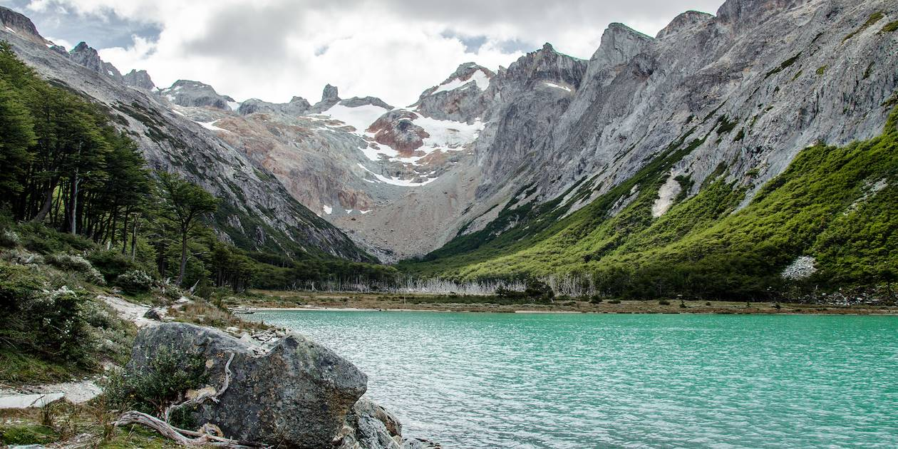 Laguna Esmeralda dans le Parc National de la Terre de Feu - Ushuaia - Argentine