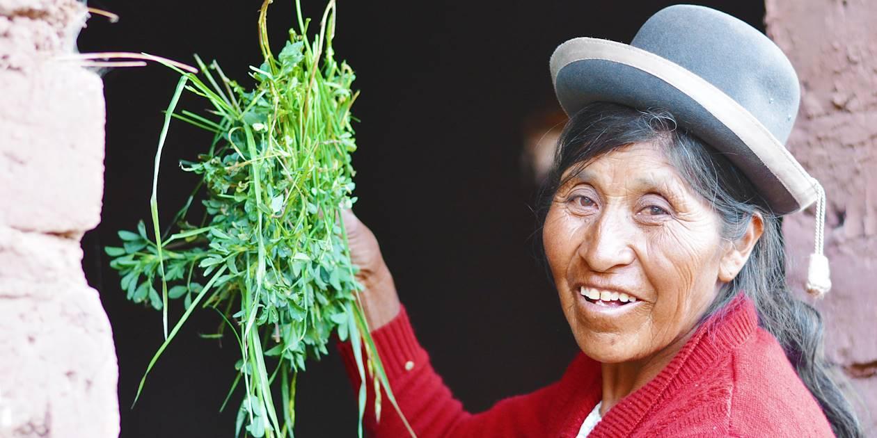Femme Aymara - Chili