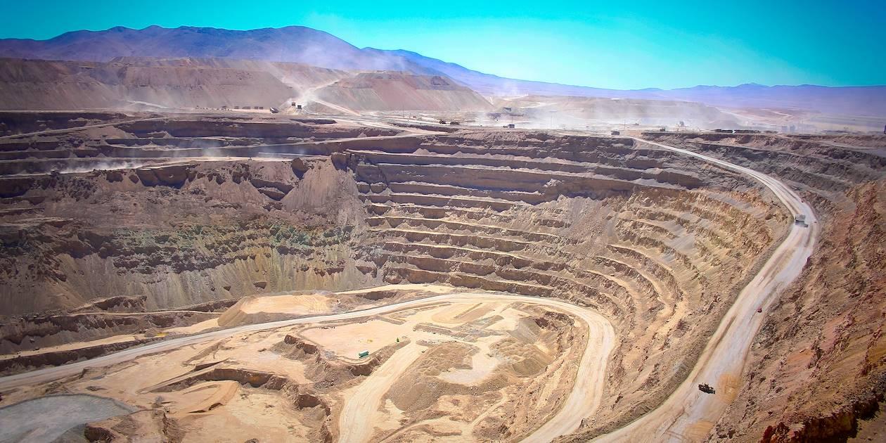 La mine Chuquicamata - San Pedro de Atacama - Chili