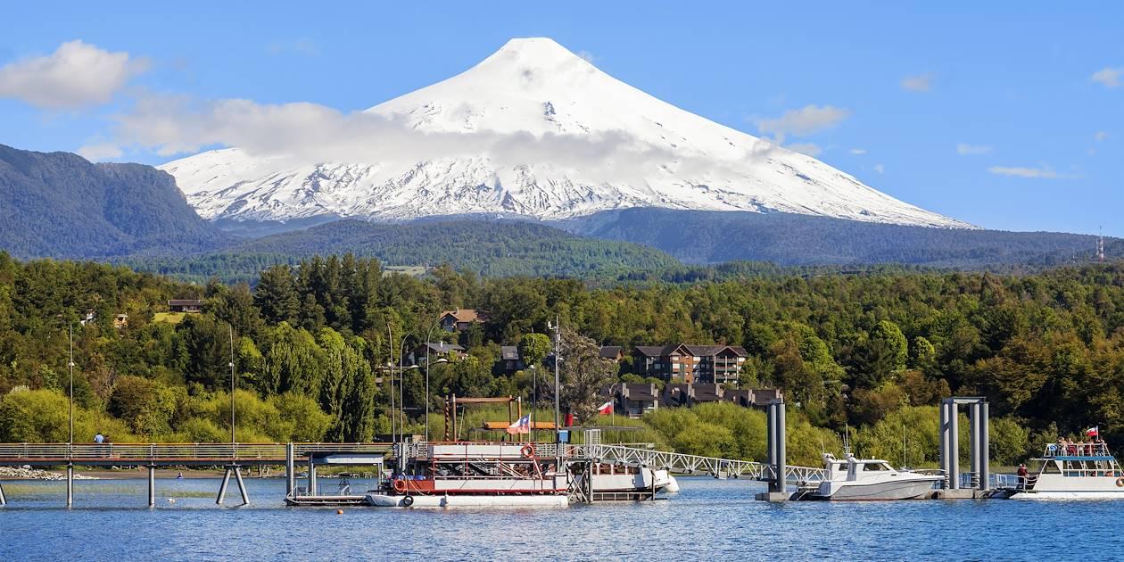 Volcan Villarica - Région des fleuves - Chili